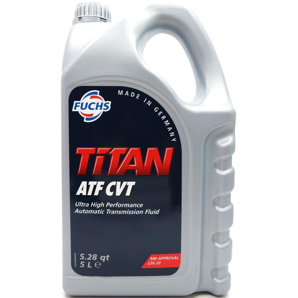 5 Liter FUCHS TITAN ATF CVT Automatikgetriebeöl