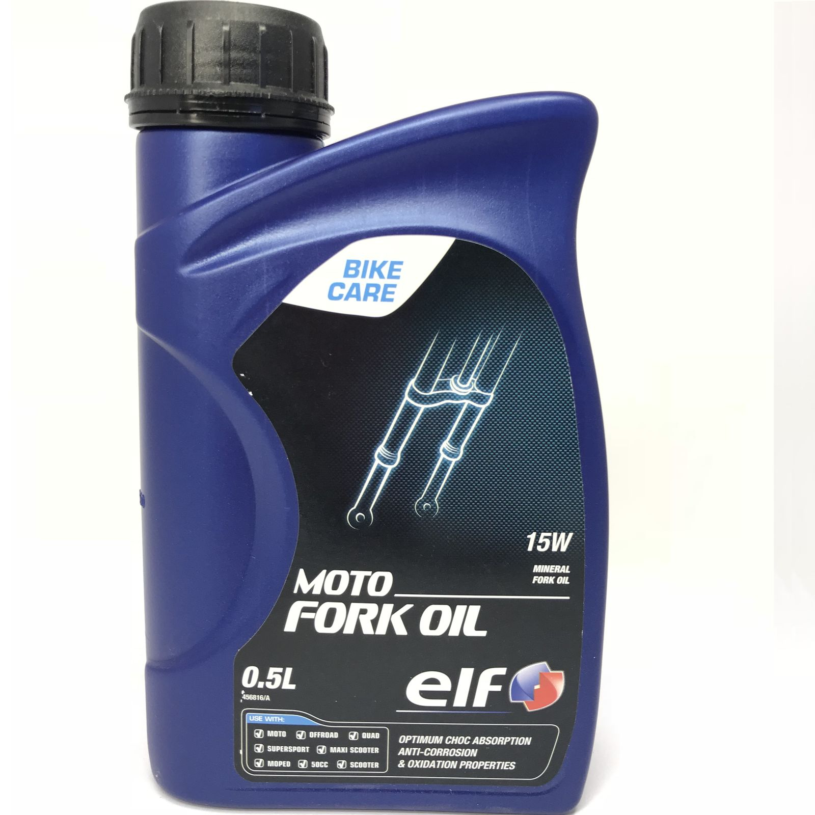 0,5 Liter elf MOTO FORK OIL 15W Gabelöl