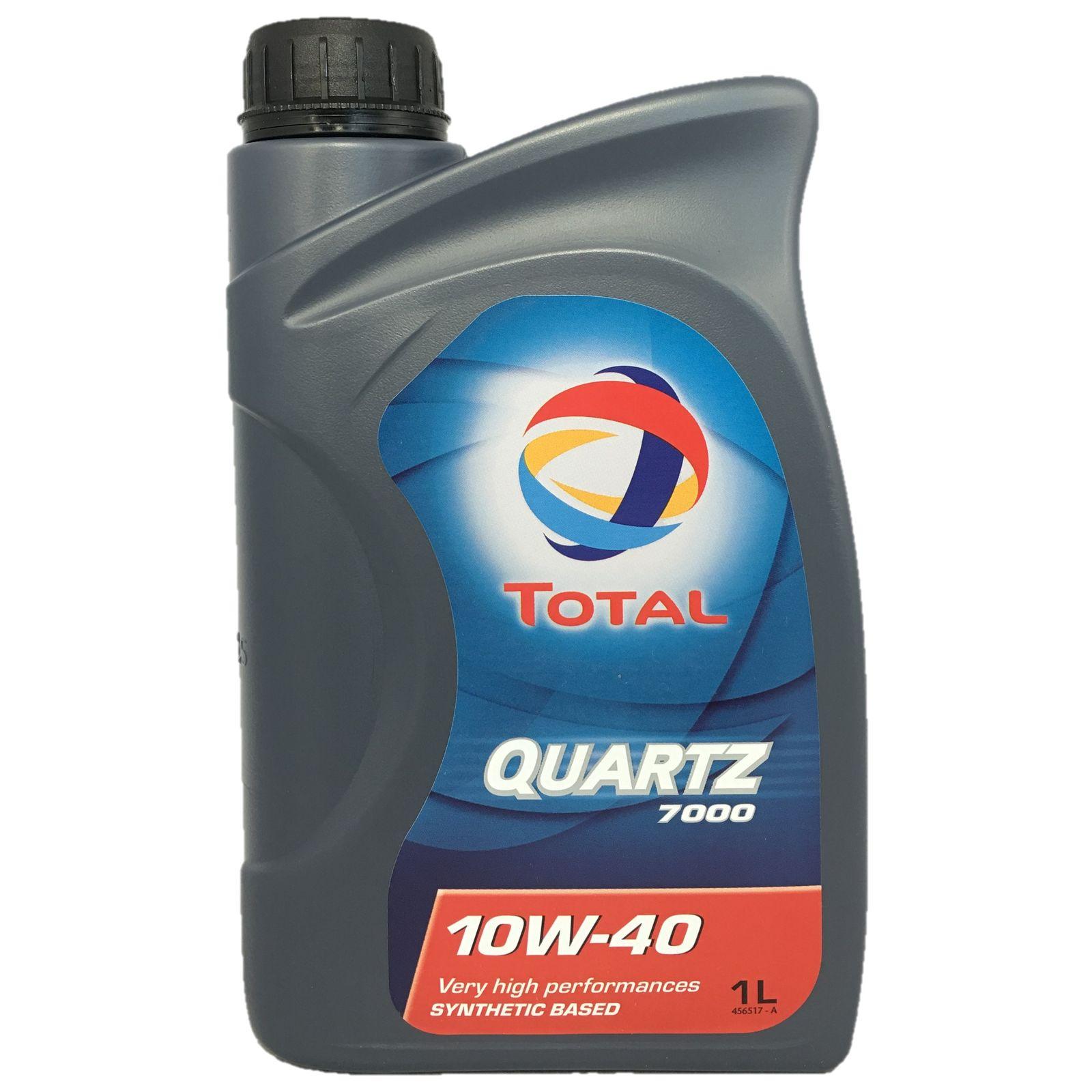 1 Liter TOTAL QUARTZ 7000 10W-40
