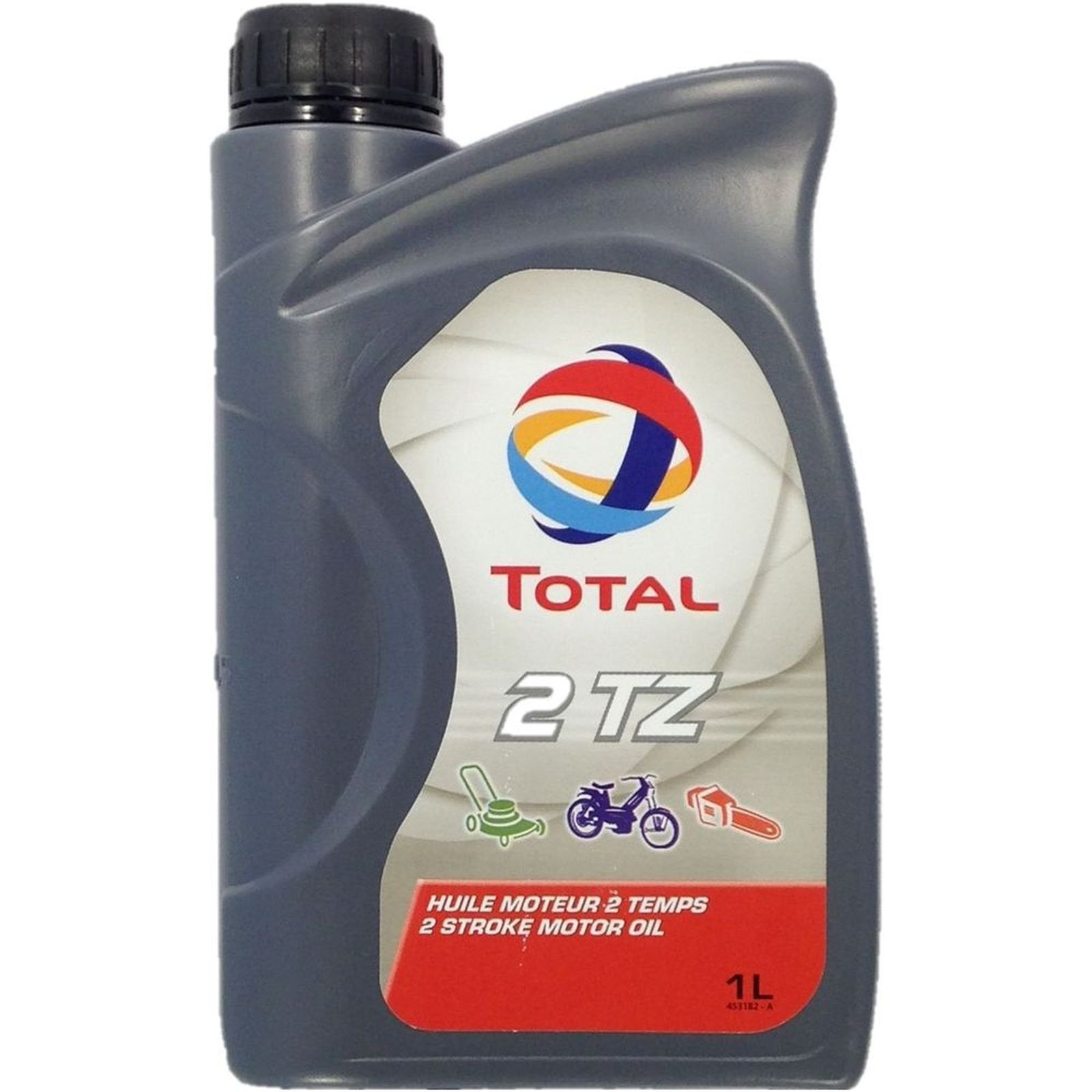 1 Liter Total 2 TZ für Rasenmäher, Motorsäge, Mofa,...