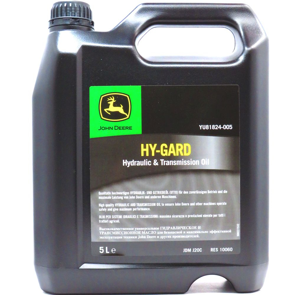 5 Liter John Deere Hy-Gard Getriebe- und Hydrauliköl (UTTO)