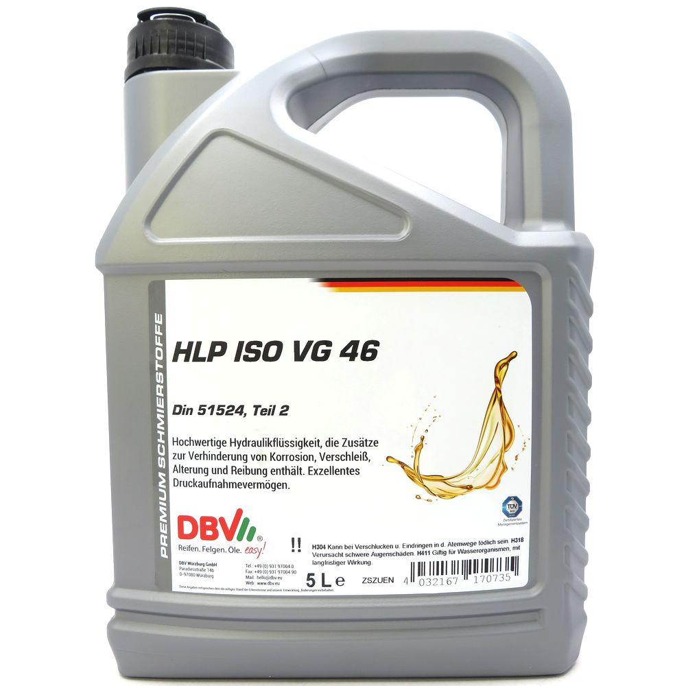 5 Liter DBV - Hydrauliköl HLP-46