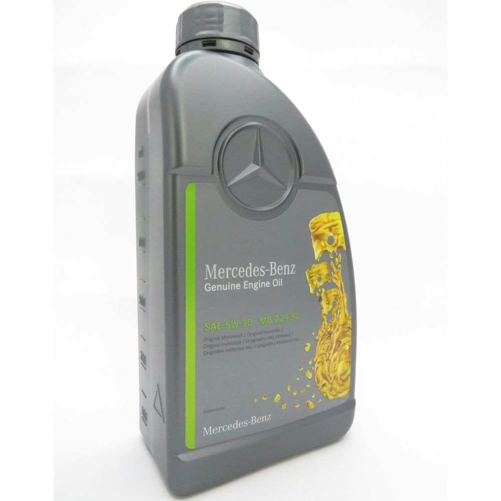 1 Liter Original Mercedes-Benz Motoröl 5W-30 MB 229.52