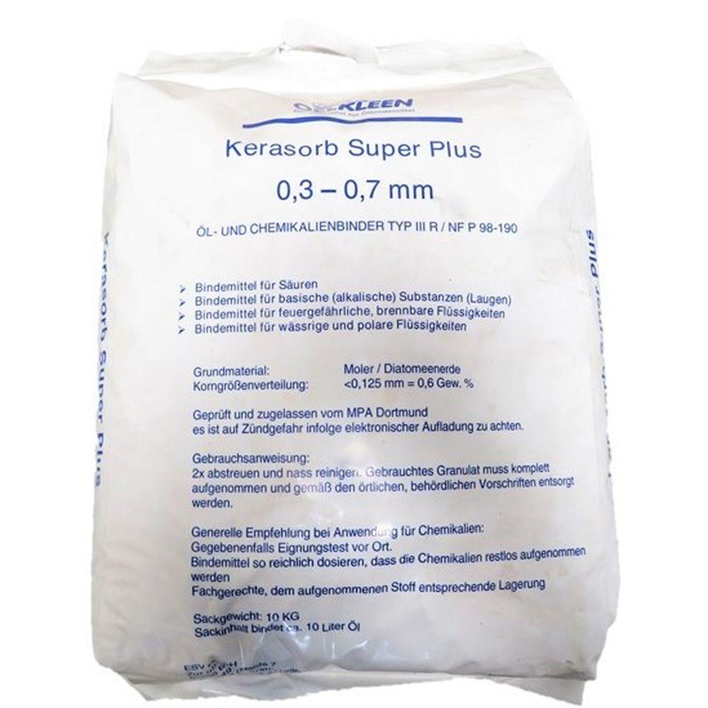 10 kg Oel-Kleen Kerasorb Super Plus Öl- u. Chemikalienbinder Typ III R