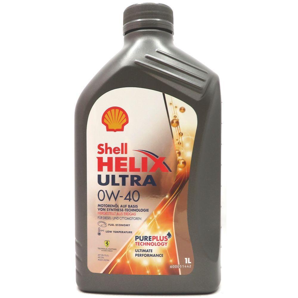 1 Liter Shell Helix Ultra 0W-40