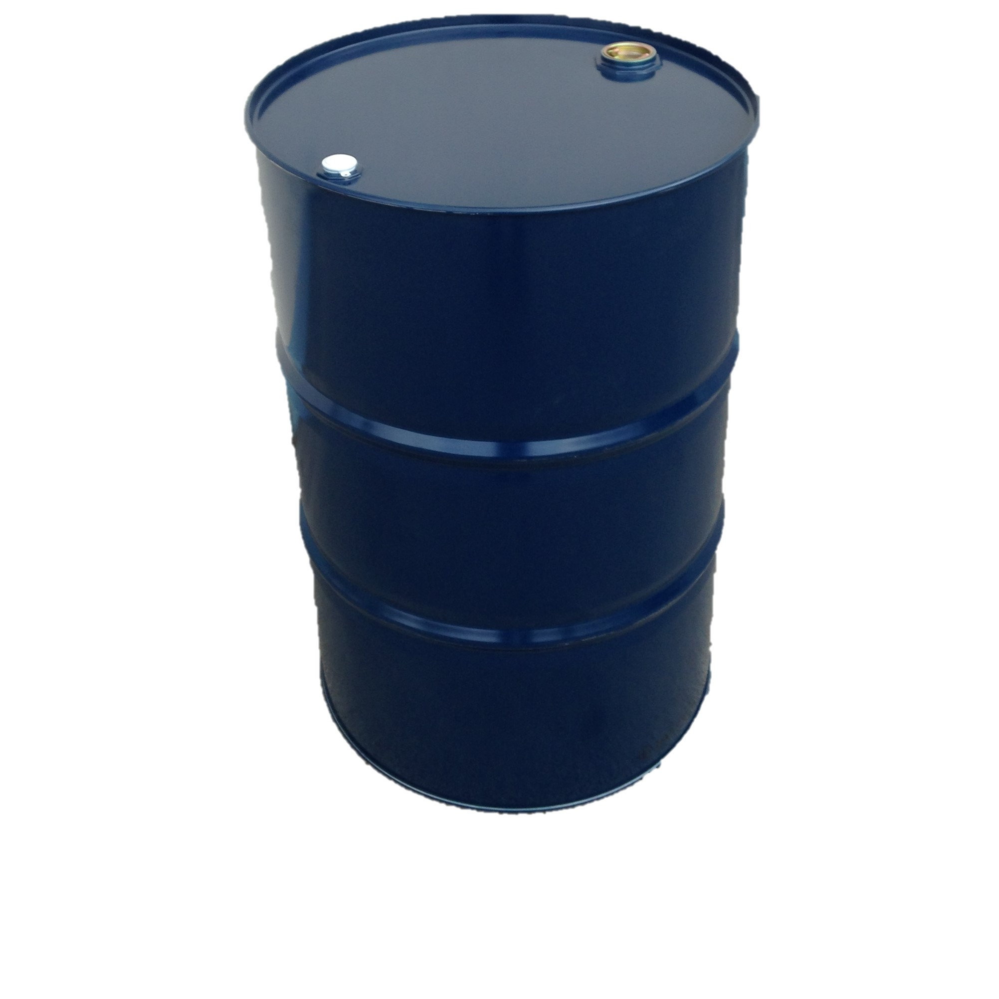 216 Liter Blechfass Stahlfass Faß Garagenfaß Ölfass Metallfass Tonne *NEU* Dunkelblau