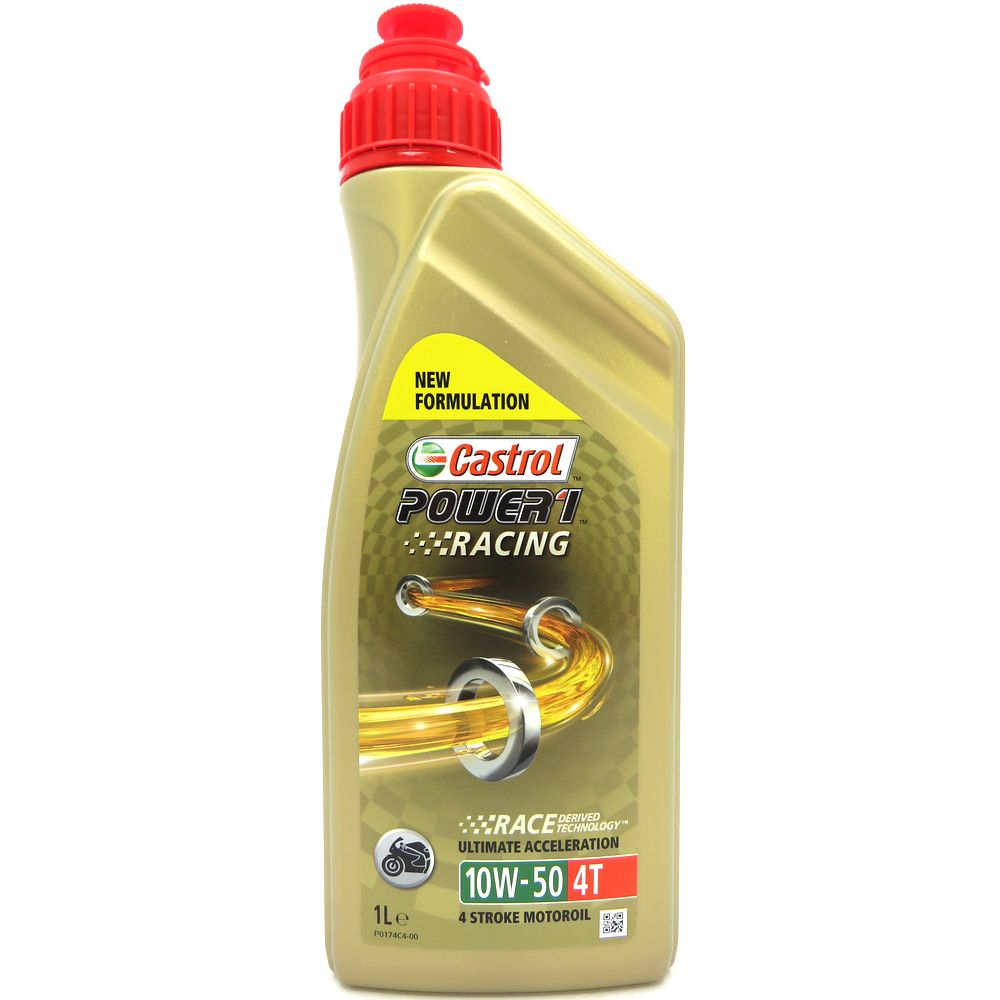 1 Liter Castrol Power 1 Racing 4T 10W-50