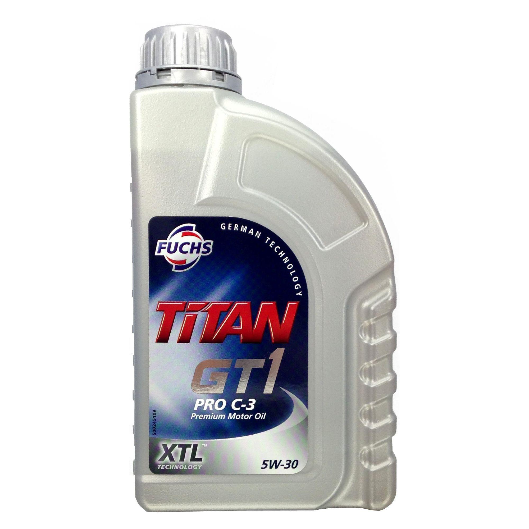 1 Liter FUCHS TITAN GT1 PRO C-3 SAE 5W-30