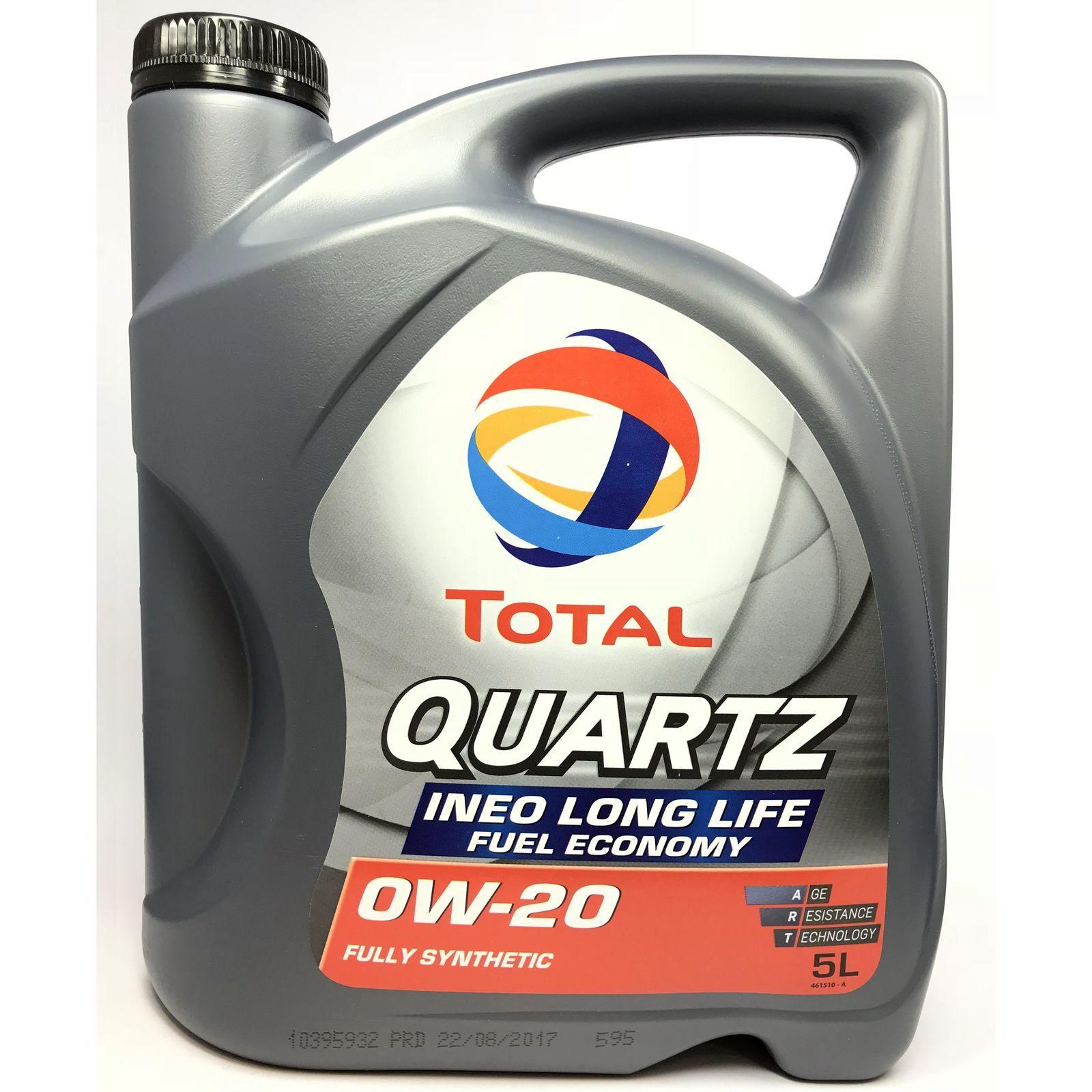 5 Liter Total Quartz Ineo LongLife 0W-20