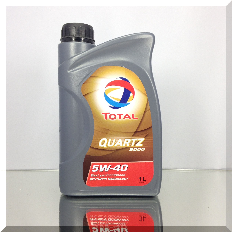 1 Liter TOTAL Quartz 9000 5W-40 Motoröl