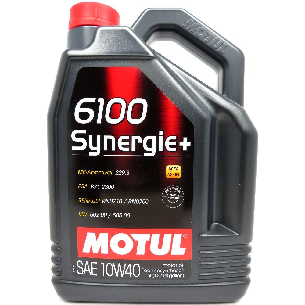 5 Liter MOTUL 6100 Synergie+ 10W-40