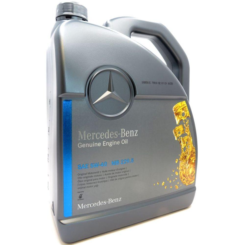 5 Liter Original Mercedes-Benz Motorenöl 5W-40 MB 229.5