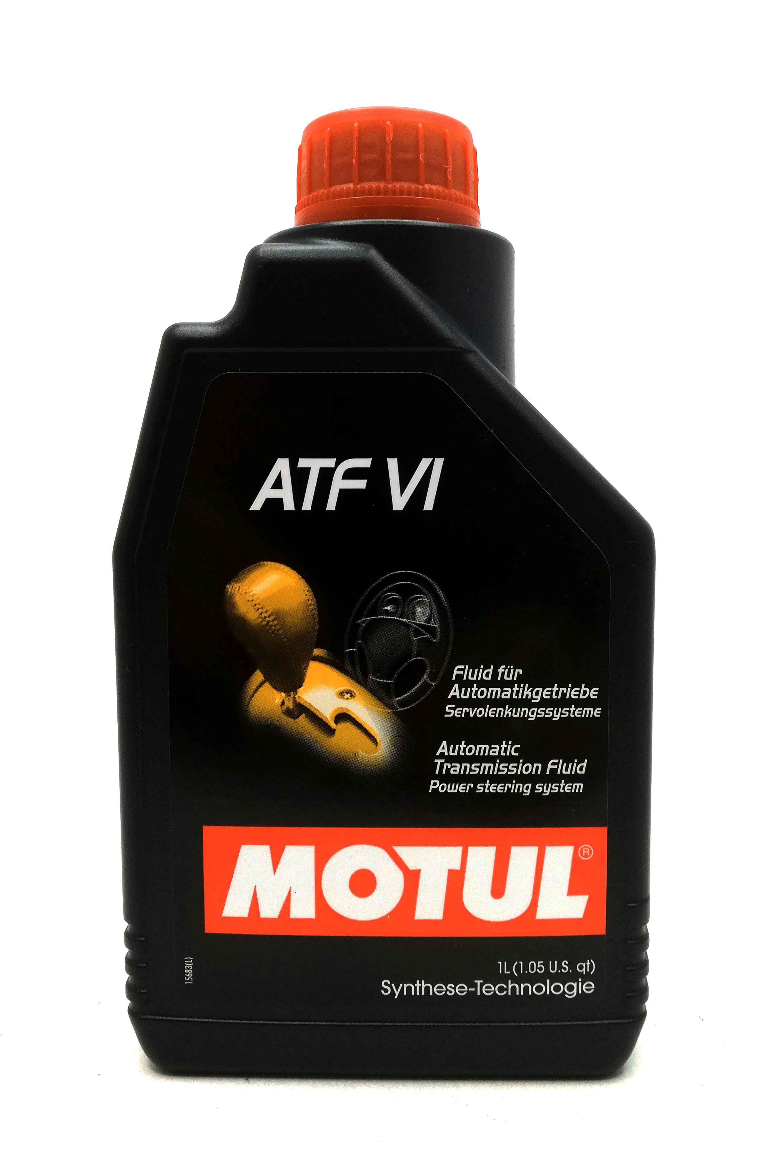 1 Liter Motul ATF VI für Automatikgetriebe und Servolenkungssysteme