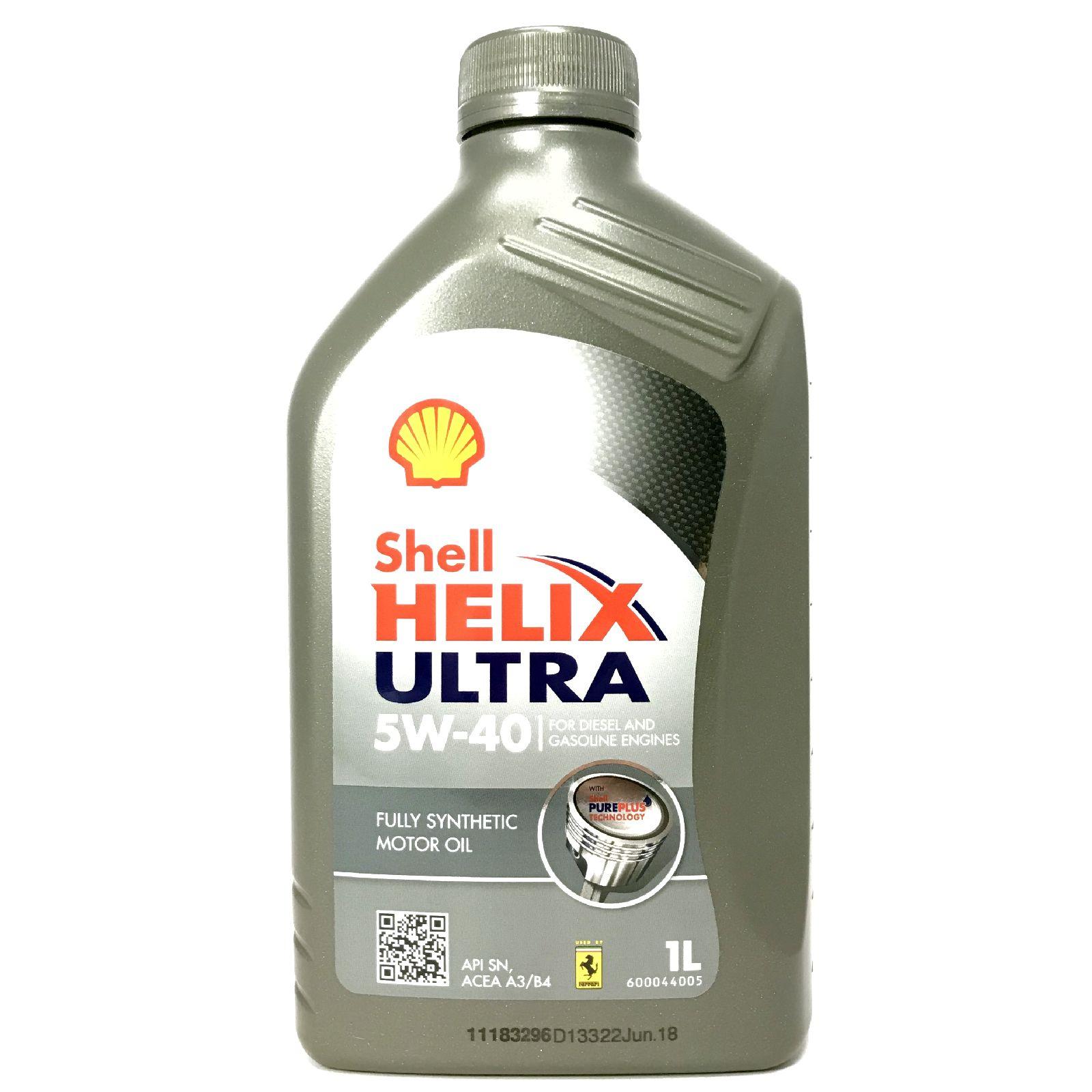 1 Liter Shell Helix Ultra 5W-40