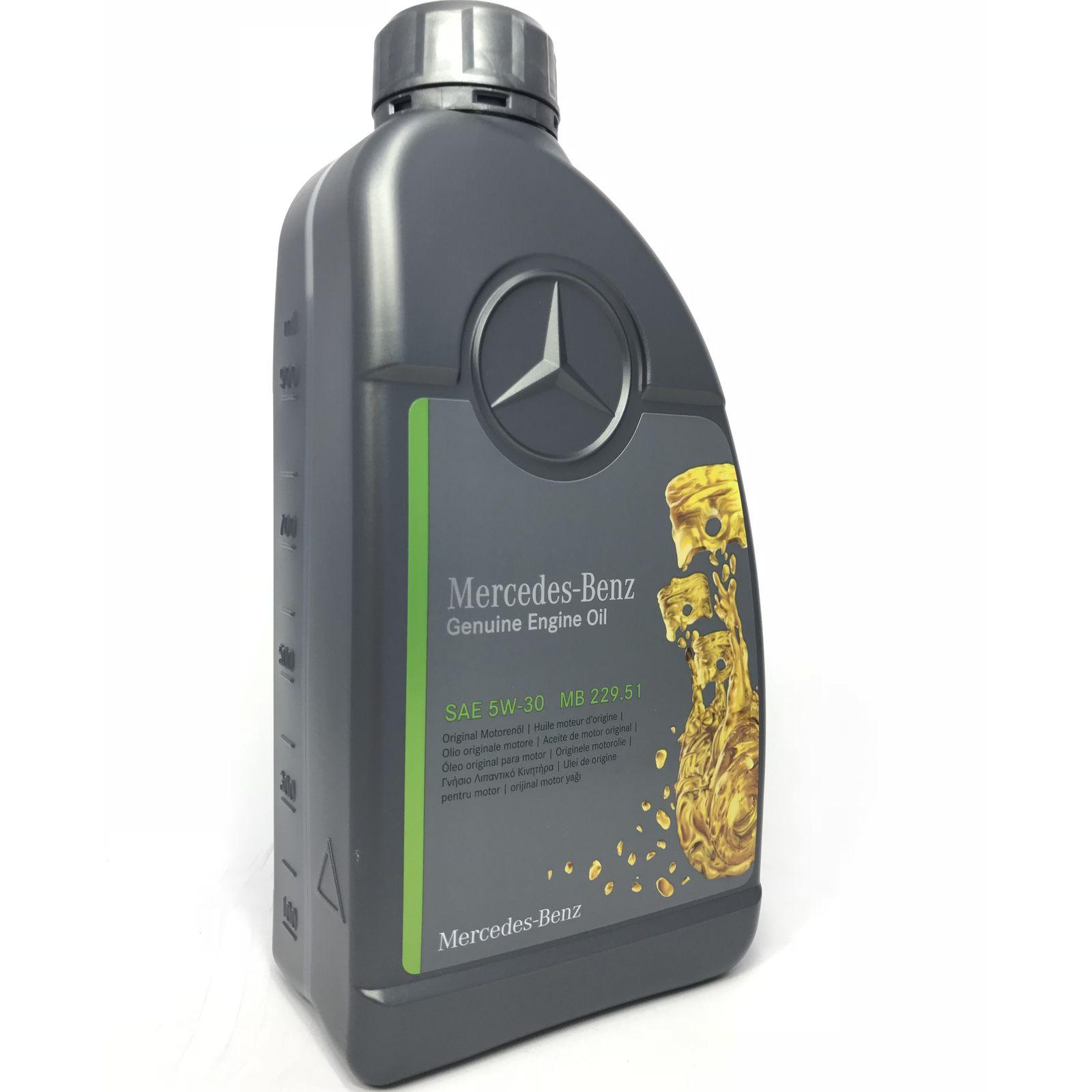 1 Liter Original Mercedes Motoröl 5W-30 MB 229.51