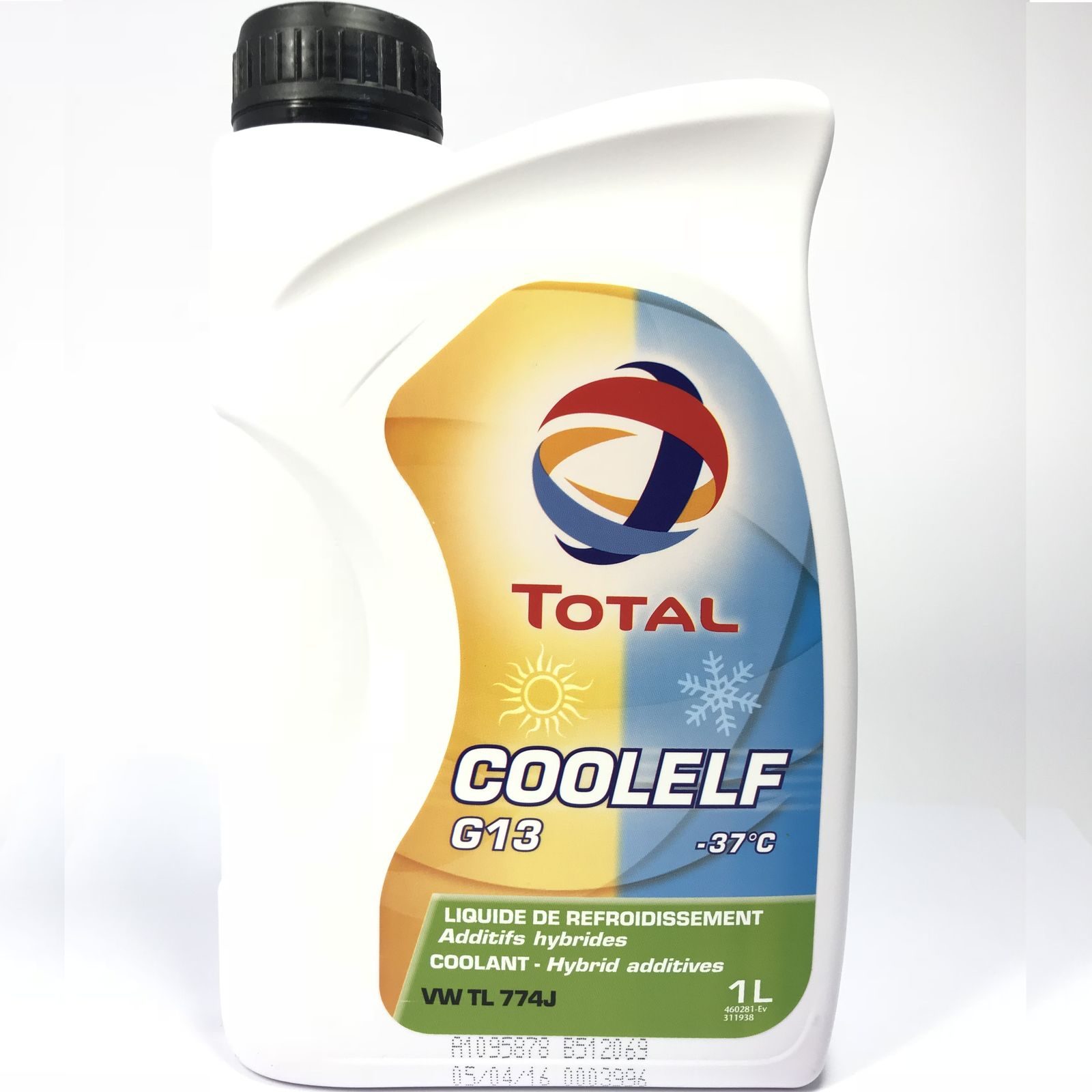 1 Liter TOTAL COOLELF G13 (-37°C)