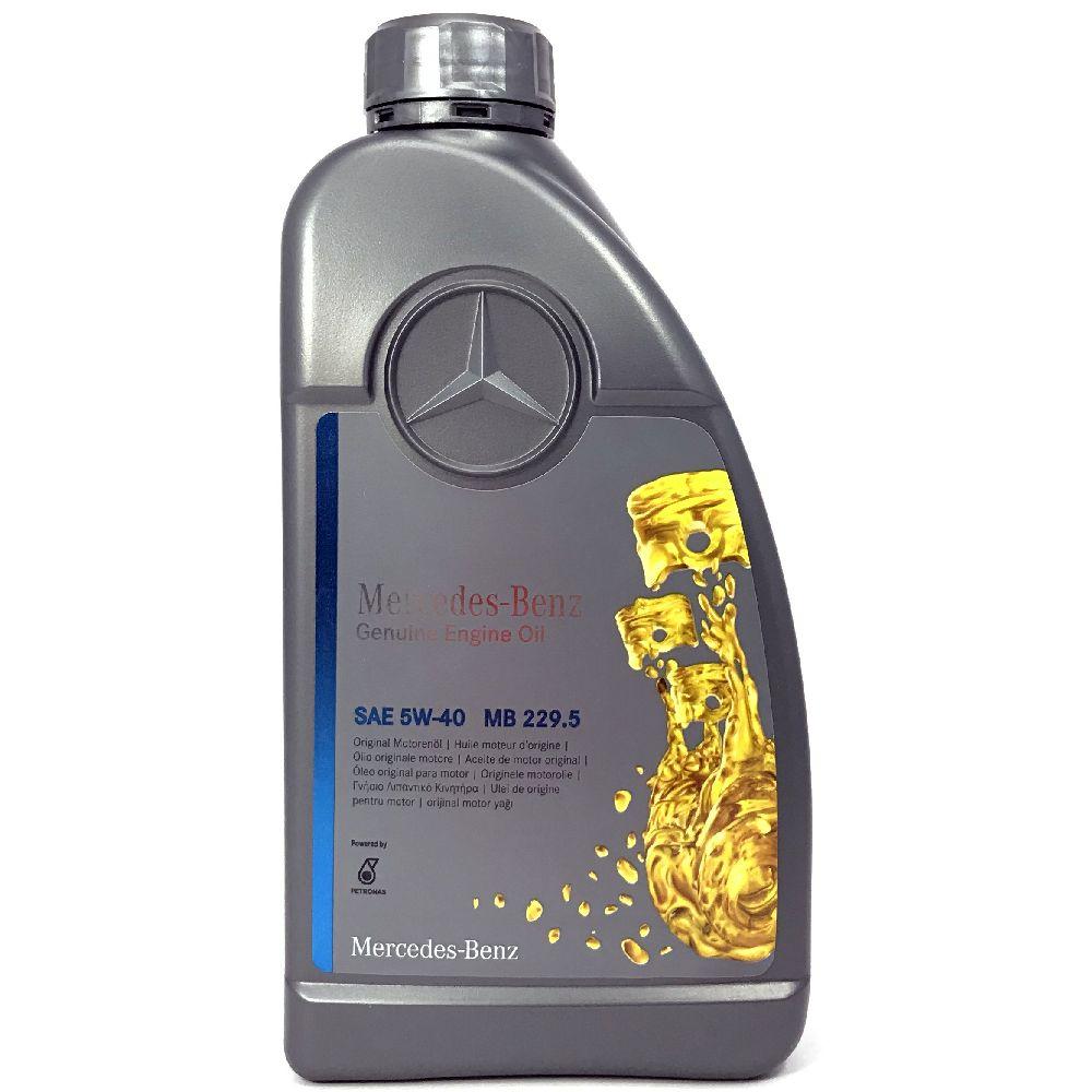 1 Liter Original Mercedes-Benz Motorenöl 5W-40 MB 229.5