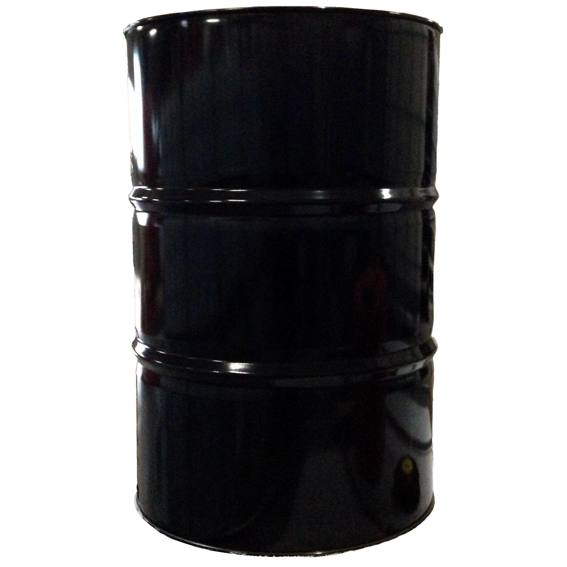 60 Liter Blechfass Stahlfass Faß Garagenfaß Ölfass Metallfass Tonne *NEU* Schwarz glänzend