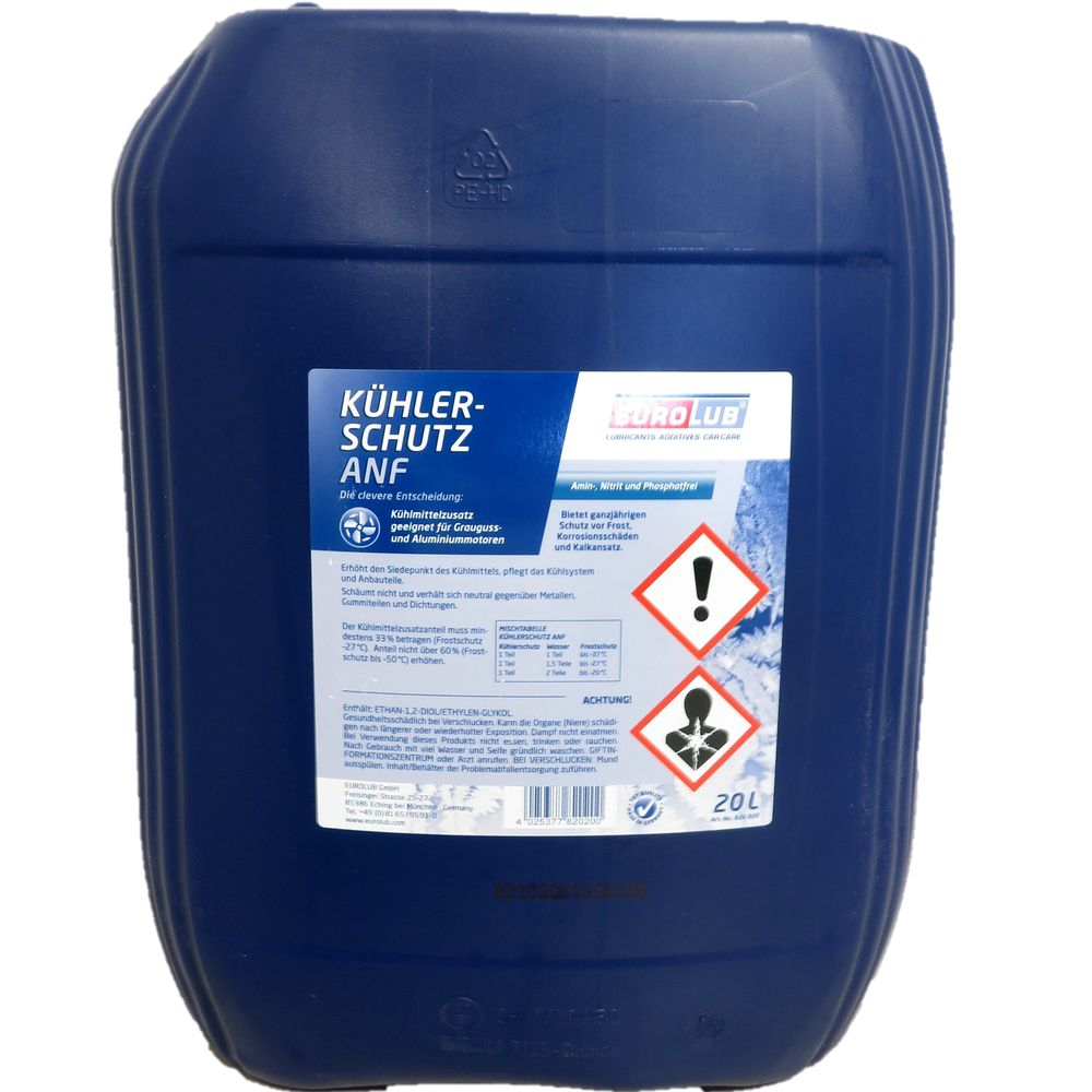 20 Liter EUROLUB Kühlerschutz ANF