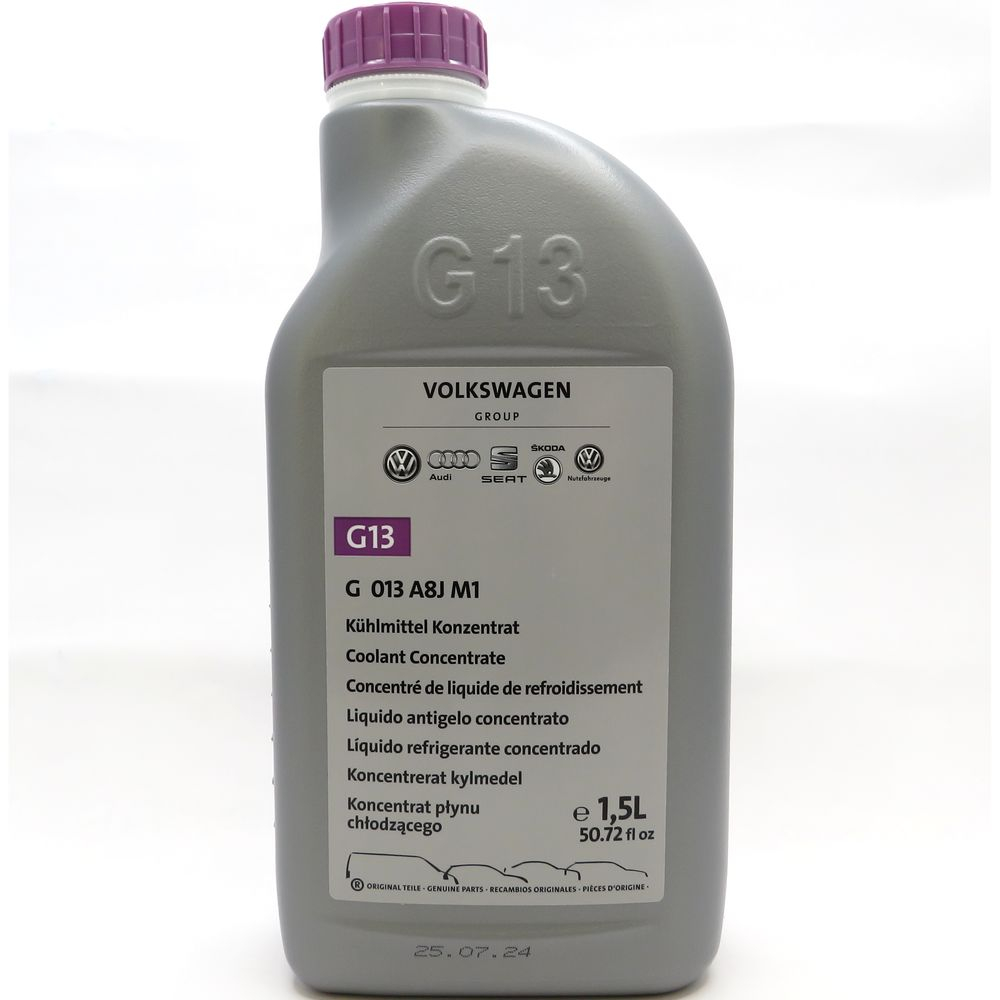 1,5  Liter VW Kühlmittel Konzentrat G13