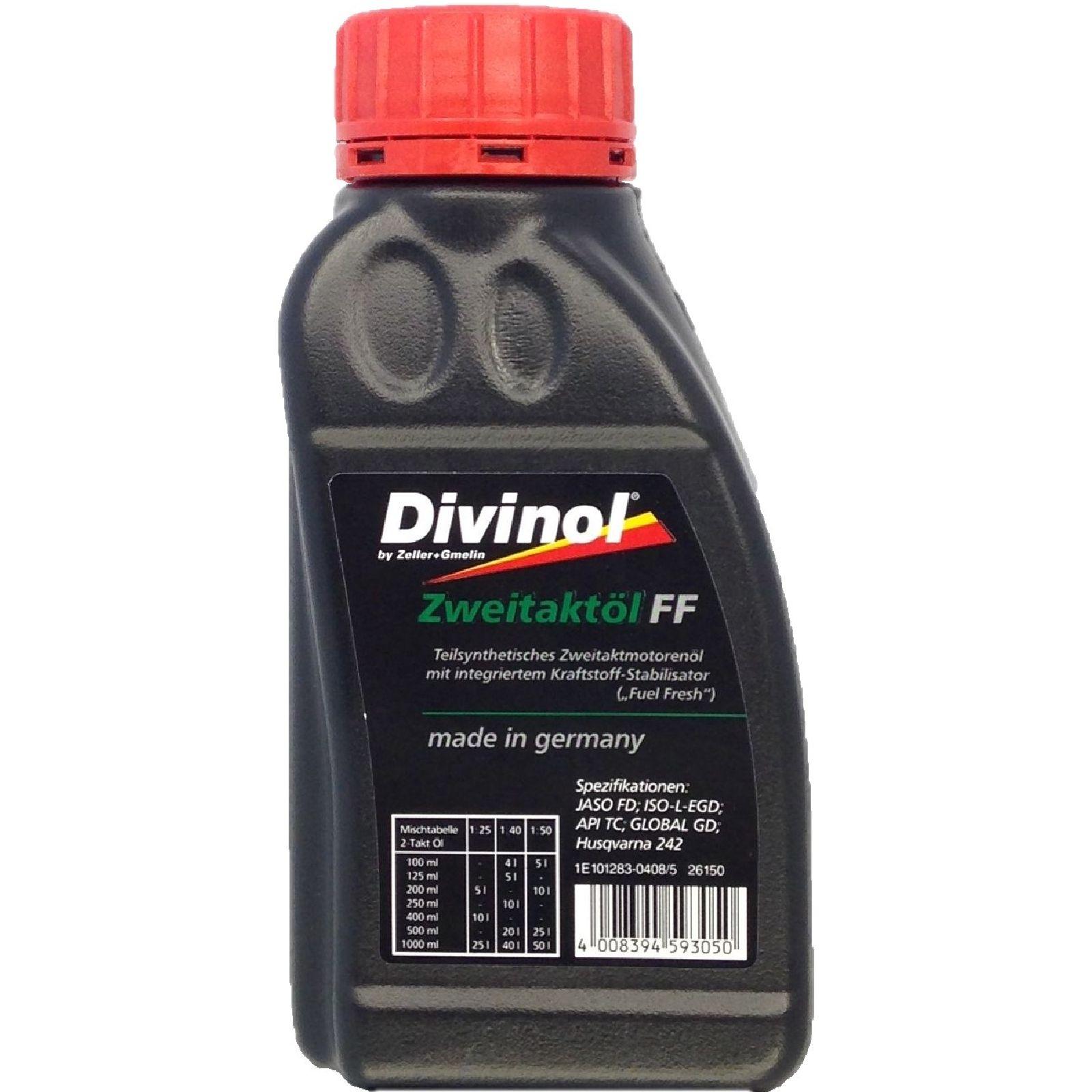 250 ml Divinol Zweitaktöl FF Motorsägen